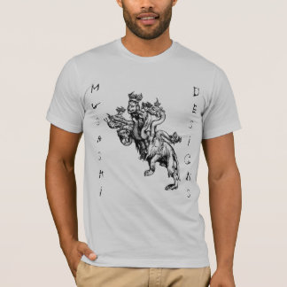 Camiseta Musashi projeta o Hydra de Durer