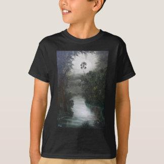 Camiseta Musgo enevoado do rio de Florida
