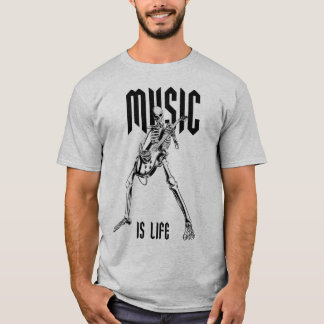 Camiseta Music is Life