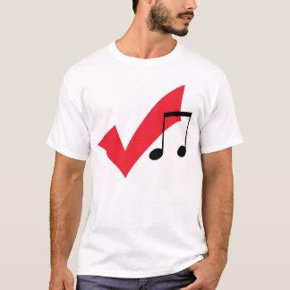 Camiseta música?