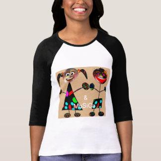 Camiseta *&   MuSiCa* da loja   um design italiano original