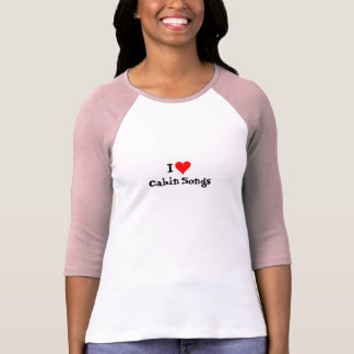 Camiseta Música de Bluegrass: Mim canções da cabine (do
