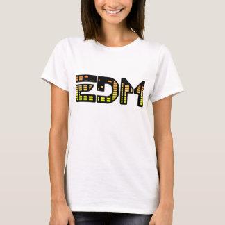 Camiseta Música de dança eletrônica
