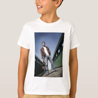 Camiseta Música de Ryan Kelly - ponte - branco da juventude