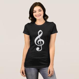 Camiseta Música do Clef de triplo