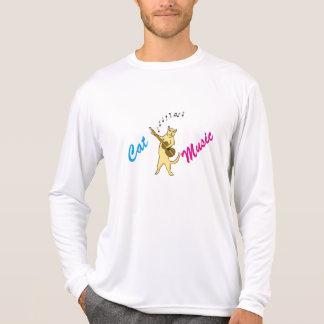 Camiseta Música do gato