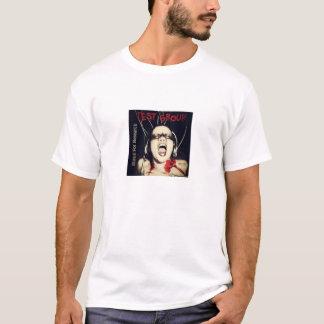 Camiseta Música do grupo de teste para o t-shirt CD do