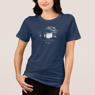 Camiseta Música do t-shirt das mulheres das árvores