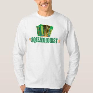 Camiseta Música engraçada do acordeão