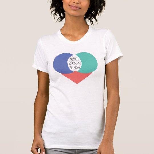 Camiseta Música Para Cortar Os Pulsos