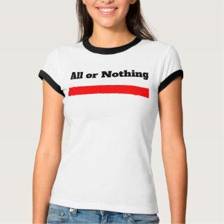 Camiseta Música preciosa, tudo ou nada de Divinty concerto