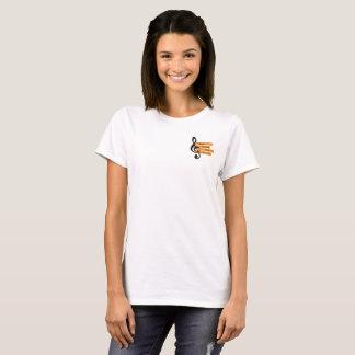 Camiseta Música que ensina Guru: O t-shirt das senhoras