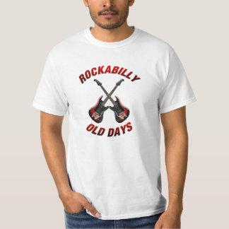 Camiseta Música velha Rockabilly das guitarra dos dias