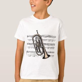 Camiseta Musical 12 B da trombeta