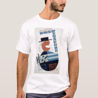 Camiseta Musical do Pinafore do HMS WPA 1939