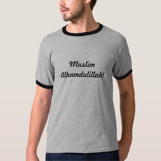 Camiseta Muslim alhamdulillah