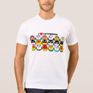 Camiseta Mutações da cor do Lovebird