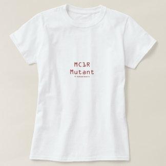 Camiseta Mutante de MC1R