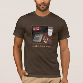 Camiseta Na apreciação de escocês fino
