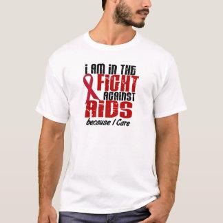 Camiseta Na luta contra o AIDS