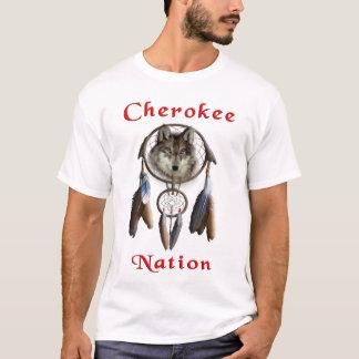Camiseta nação cherokee