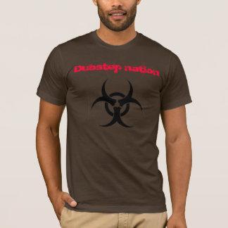 Camiseta Nação de Dubstep