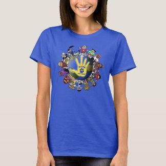 Camiseta Nação de FFRC em artigos da cor
