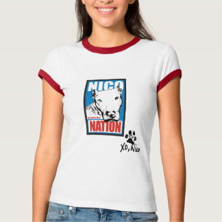 Camiseta Nação de Nico