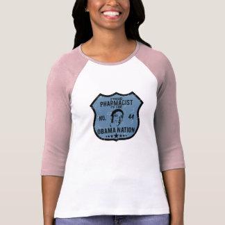 Camiseta Nação de Obama do farmacêutico