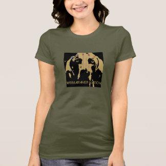 Camiseta Nação de Weimaraner: Logotipo oficial