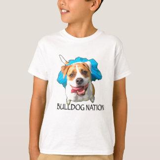 Camiseta nação do buldogue