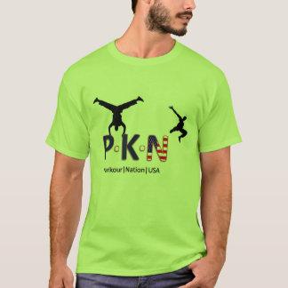 Camiseta Nação EUA de Parkour