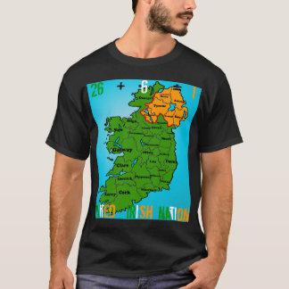 Camiseta Nação irlandesa unida