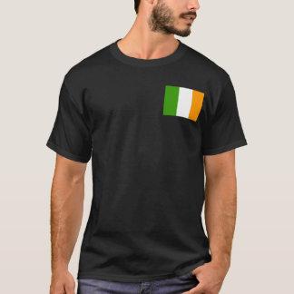 Camiseta Nação irlandesa unida w/pocket Tricolor