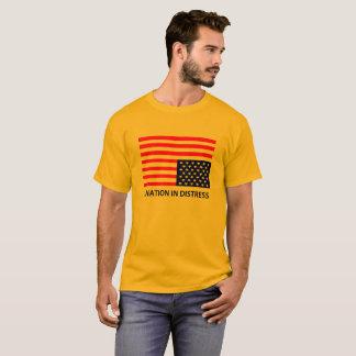 Camiseta Nação no t-shirt da aflição