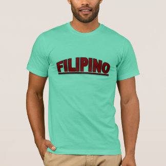 "Camiseta Nacionalidades - ""filipino """
