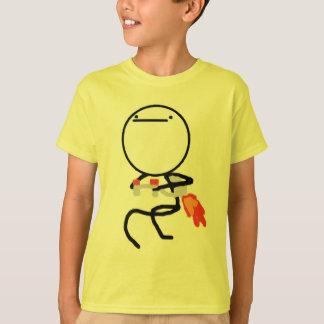Camiseta Nada fazer aqui jorra cara do bloco
