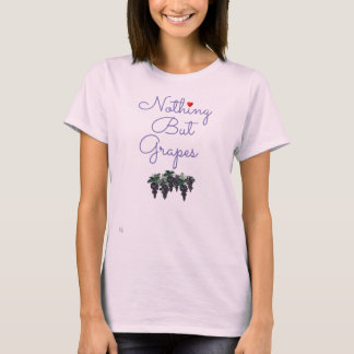 Camiseta Nada mas t-shirt das uvas