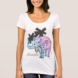 Camiseta Namaste elefante alpargata
