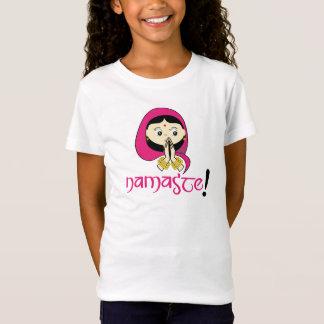 Camiseta Namaste! (Menina)