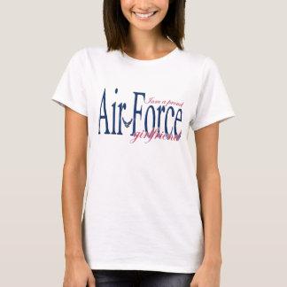 Camiseta Namorada da força aérea