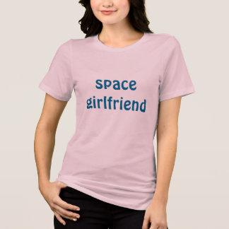 Camiseta namorada do espaço