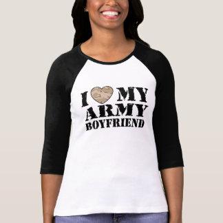 Camiseta Namorada do exército