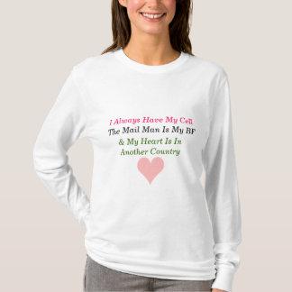 Camiseta Namorada Hoody do exército
