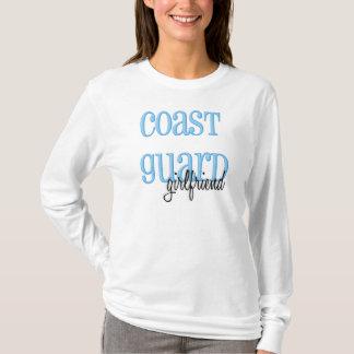 Camiseta Namorada longo da guarda costeira da luva