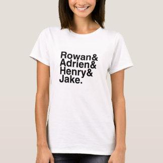 Camiseta Namorado do livro - Rowan, Adrien, Henry, Jake