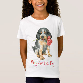 Camiseta Namorados Bluetick cor-de-rosa