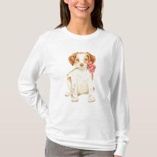 Camiseta Namorados Brittany cor-de-rosa
