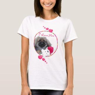 Camiseta Namorados de Pekingese