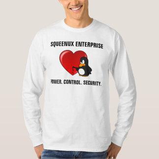 Camiseta Namorados do geek da segurança informática